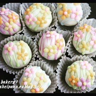 バレンタイン チョコレシピ ボンボンショコラ4
