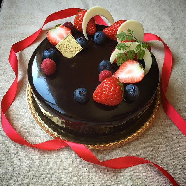 バレンタイン ケーキ2