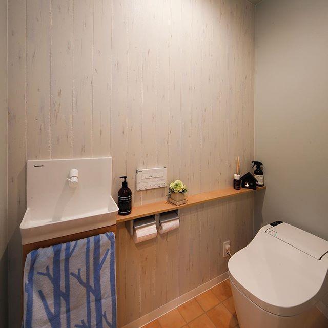 トイレ 壁紙3
