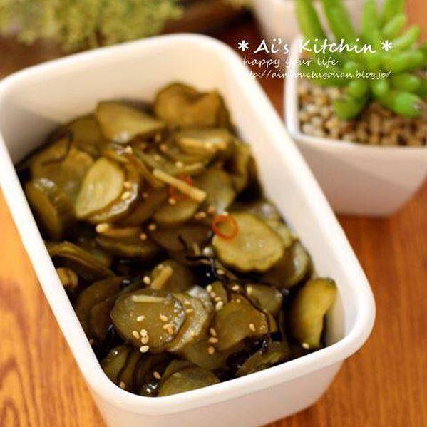 きゅうり 作り置き 簡単 料理 お弁当2