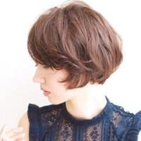 丸顔さんに似合うショートボブヘアカタログ☆大人女性のおしゃれな髪型をご紹介♪