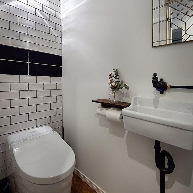 ミニマリストのトイレ