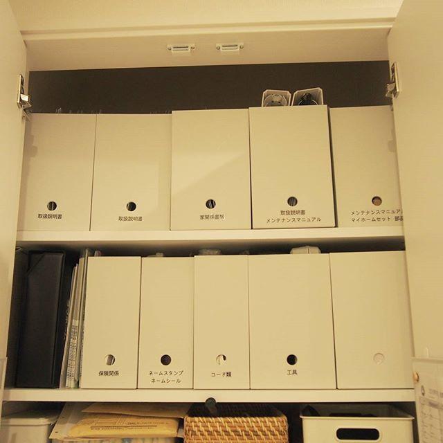 日用品の収納もばっちりできるファイルボックス
