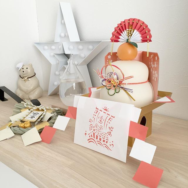 鏡餅をおしゃれに飾るアイデア2
