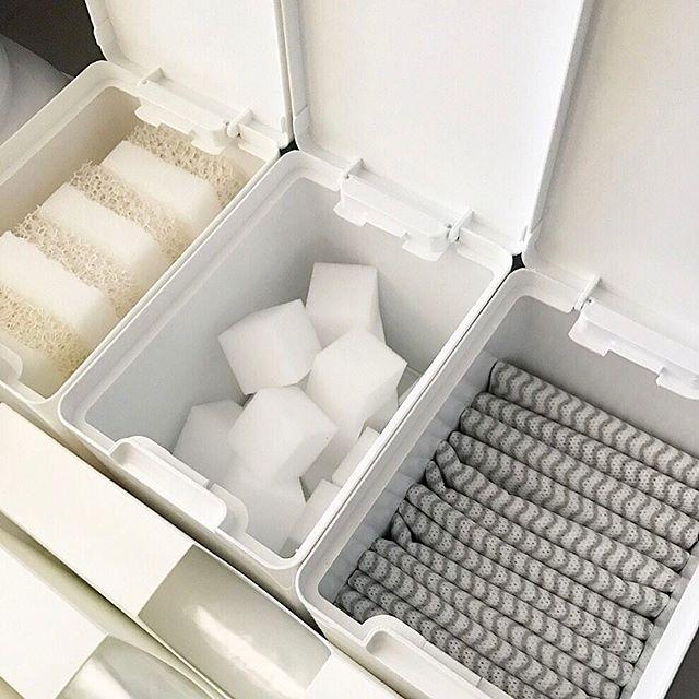 洗剤の収納アイデア19
