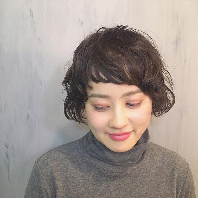 おでこ 広い 髪型2