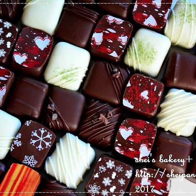 バレンタイン チョコレシピ ボンボンショコラ