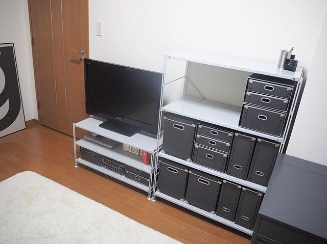 テレビ周り 収納2