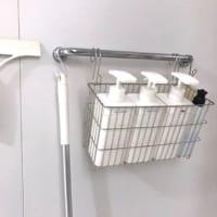 もうバスルームのヌメリに悩まされない!吊るす収納で清潔&すっきりを保つ方法