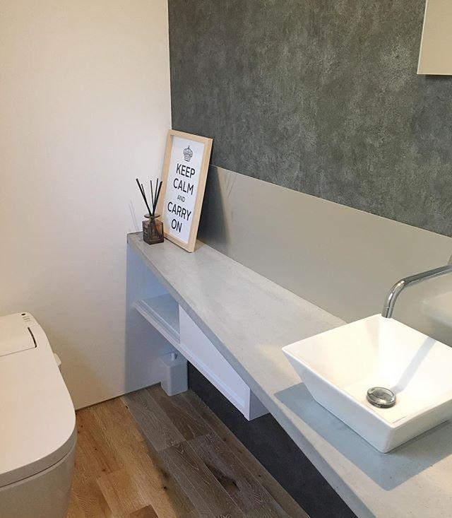 トイレ 壁紙9