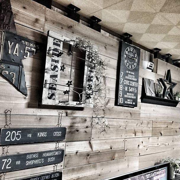DIYパーツで新しい壁を作る