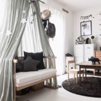 6畳で作る上手な子供部屋レイアウト術。快適な勉強部屋は家具配置がポイント