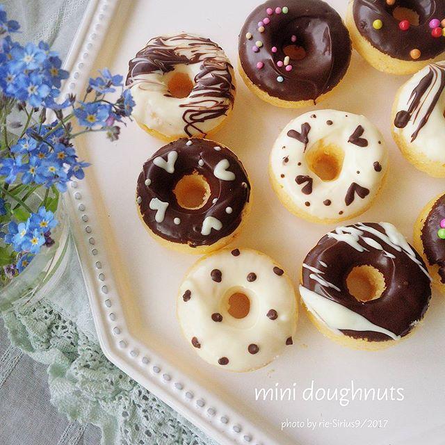 気軽なホワイトデーに!ひと口チョコドーナツ