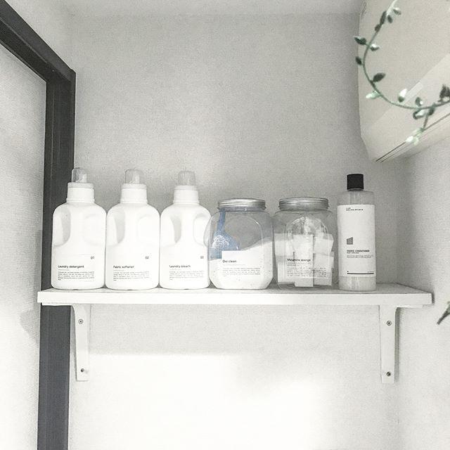 洗剤の収納アイデア3