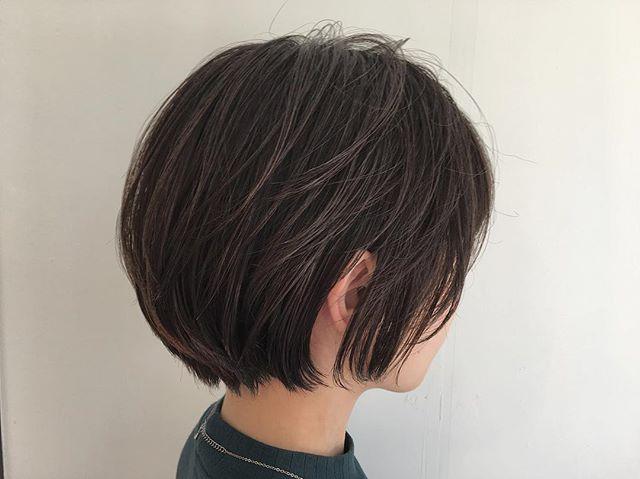 40代女性の若返りが叶うボブの髪型《黒髪・暗髪》