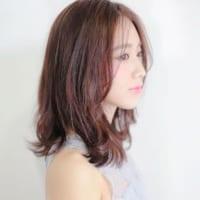 前髪なしミディアムヘアで大人の魅力UP♪色っぽさ重視の30代の髪型まとめ