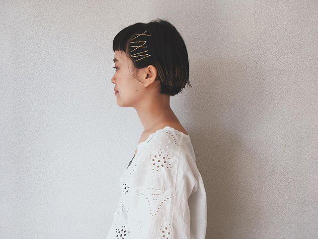 大人女性のショートボブヘア《黒髪》3