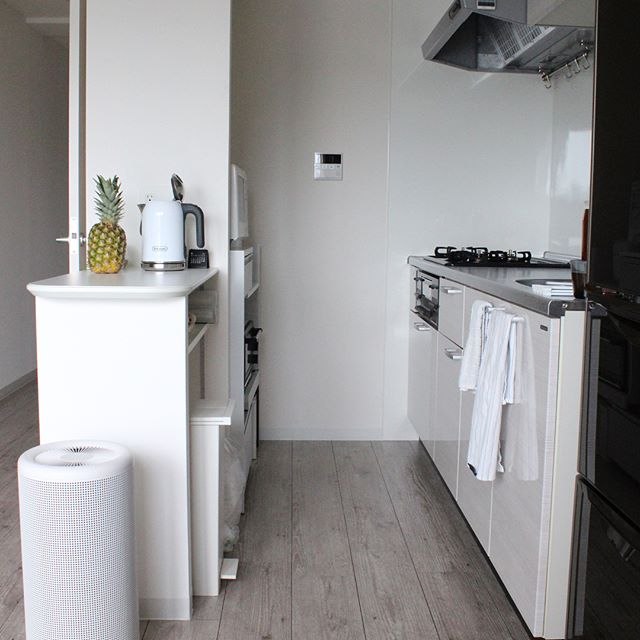 シンプリストの部屋 キッチン4