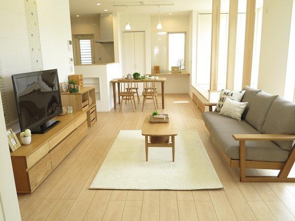 木製家具を主役にしたお部屋作り