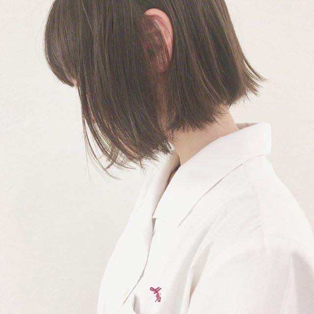 40代女性の若返りが叶うボブの髪型《ストレート》4