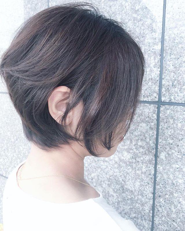 アレンジをしていなくてもきれいなヘアスタイル