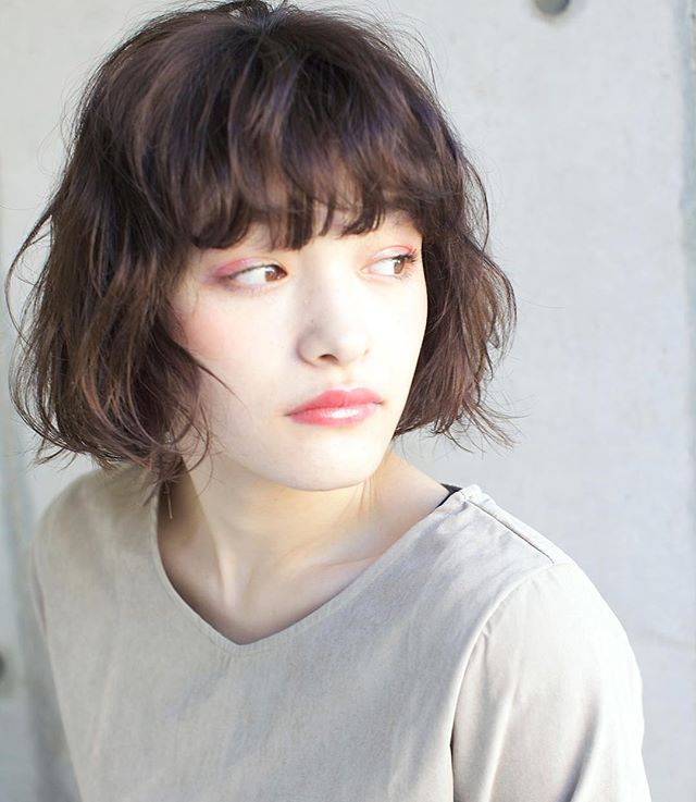 40代女性の若返りが叶うボブの髪型《パーマ》2