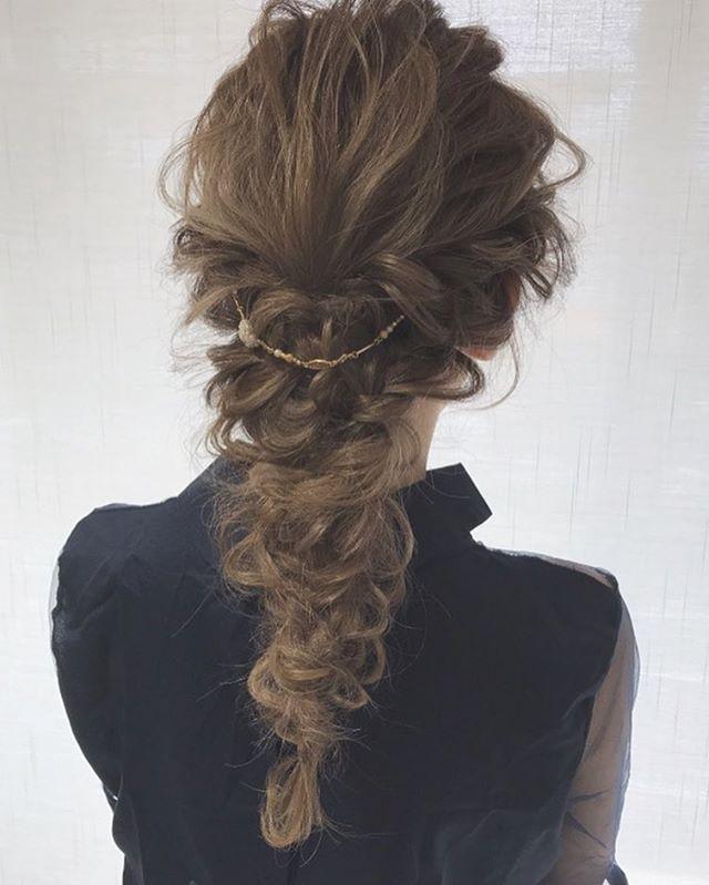 バレンタイン おすすめ 髪型 ロングヘア5