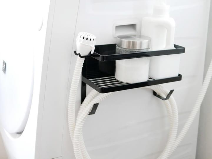 洗濯機横マグネットラック