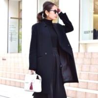 冬のブラックコーデ特集!重く見えない上級者ファッションを参考にしよう♪