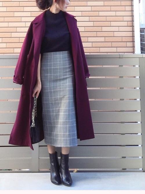 ZARAの上品タイトスカート