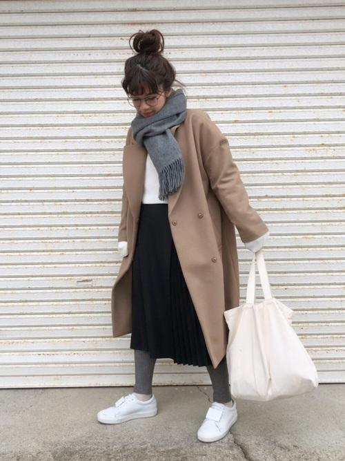 【北海道】気温0〜5度に合った服装3