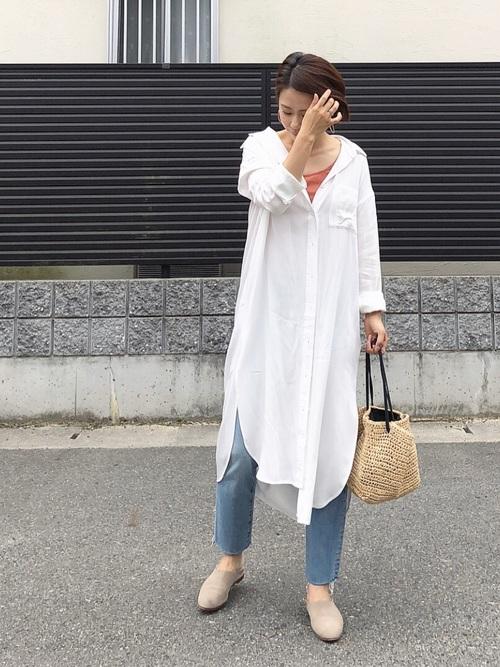 台湾 3月 服装 デニムコーデ2