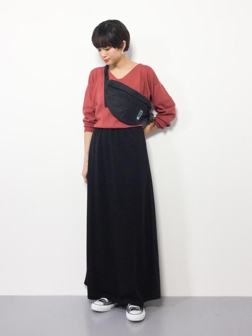 台湾 3月 服装 スカートコーデ4