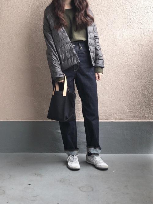 最高気温4度 服装 パンツコーデ6