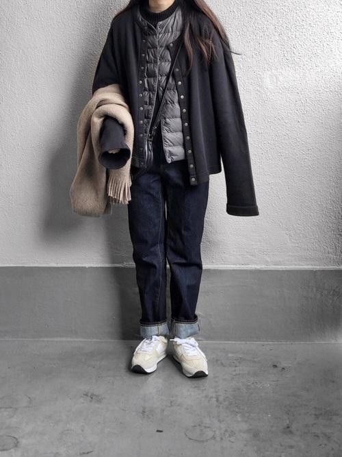 最高気温0度の服装3
