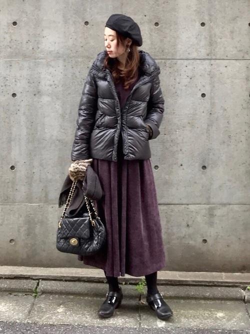 気温1度の服装23