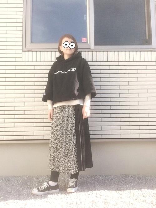 しまむら プリーツスカート14