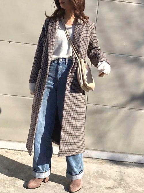 【大阪】3月におすすめの服装:パンツコーデ5