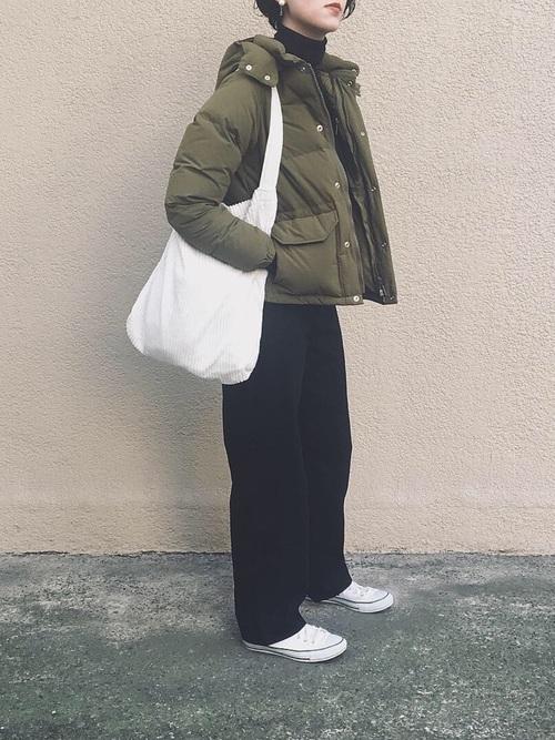 最高気温4度 服装 パンツコーデ7