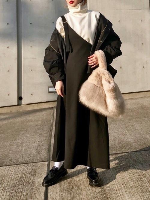 最高気温0度の服装21