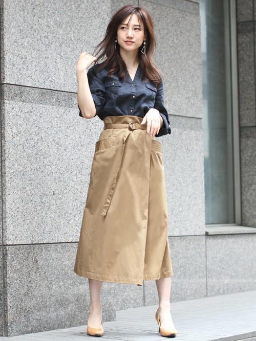 大人女性 ビジネスカジュアル 春コーデ5