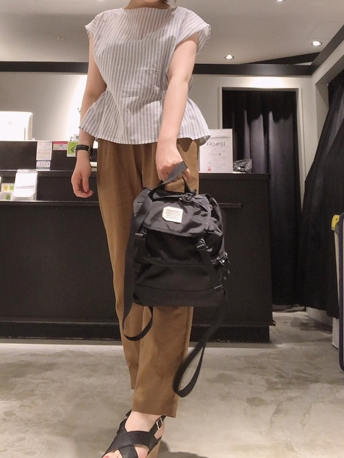 111[E hyphen world gallery] 420D DOUBLE BUCKLE BACKPACK