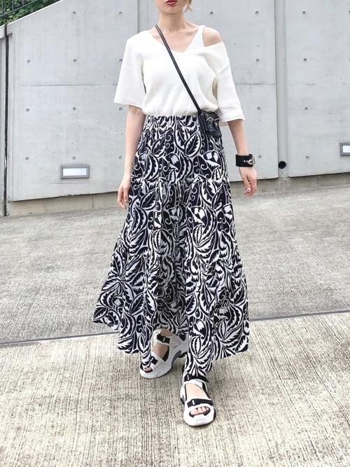 【タイ】3月におすすめの服装:スカートコーデ6