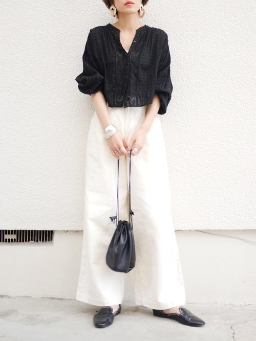 台湾 3月 服装 パンツコーデ3