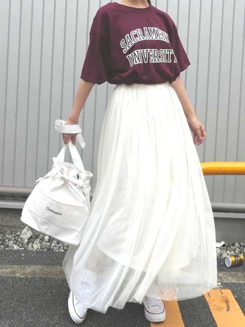 [CORNERS] チュールスカート
