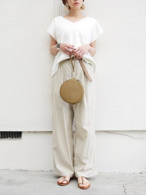 台湾 3月 服装 パンツコーデ4