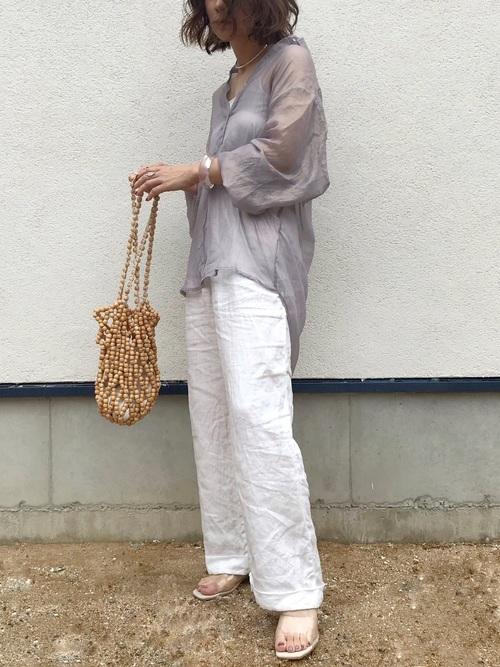 【タイ】3月におすすめの服装:パンツコーデ5