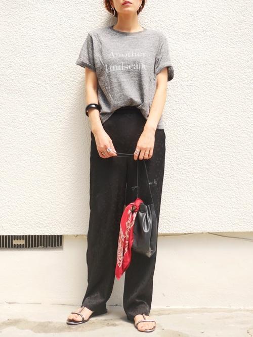 台湾 3月 服装 パンツコーデ2