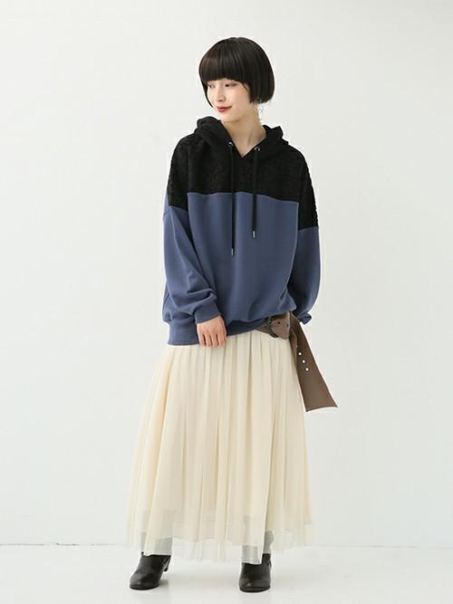 [osharewalker] 『n'Orロングチュールスカート』