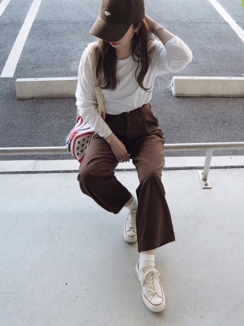 【タイ】3月におすすめの服装:パンツコーデ3
